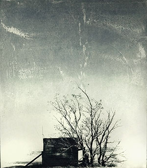 """Water Shed (2000, 22x19"""", 29x15"""")"""