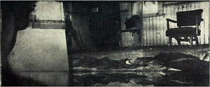 """Take a While to Share My Grief (2008, 10x24"""", 17x29"""")"""