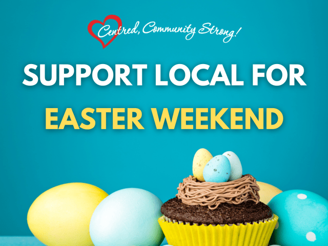 Support Local This Easter Weekend