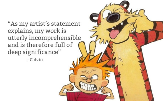 calvin-and-hobbes-artist-statement-quote