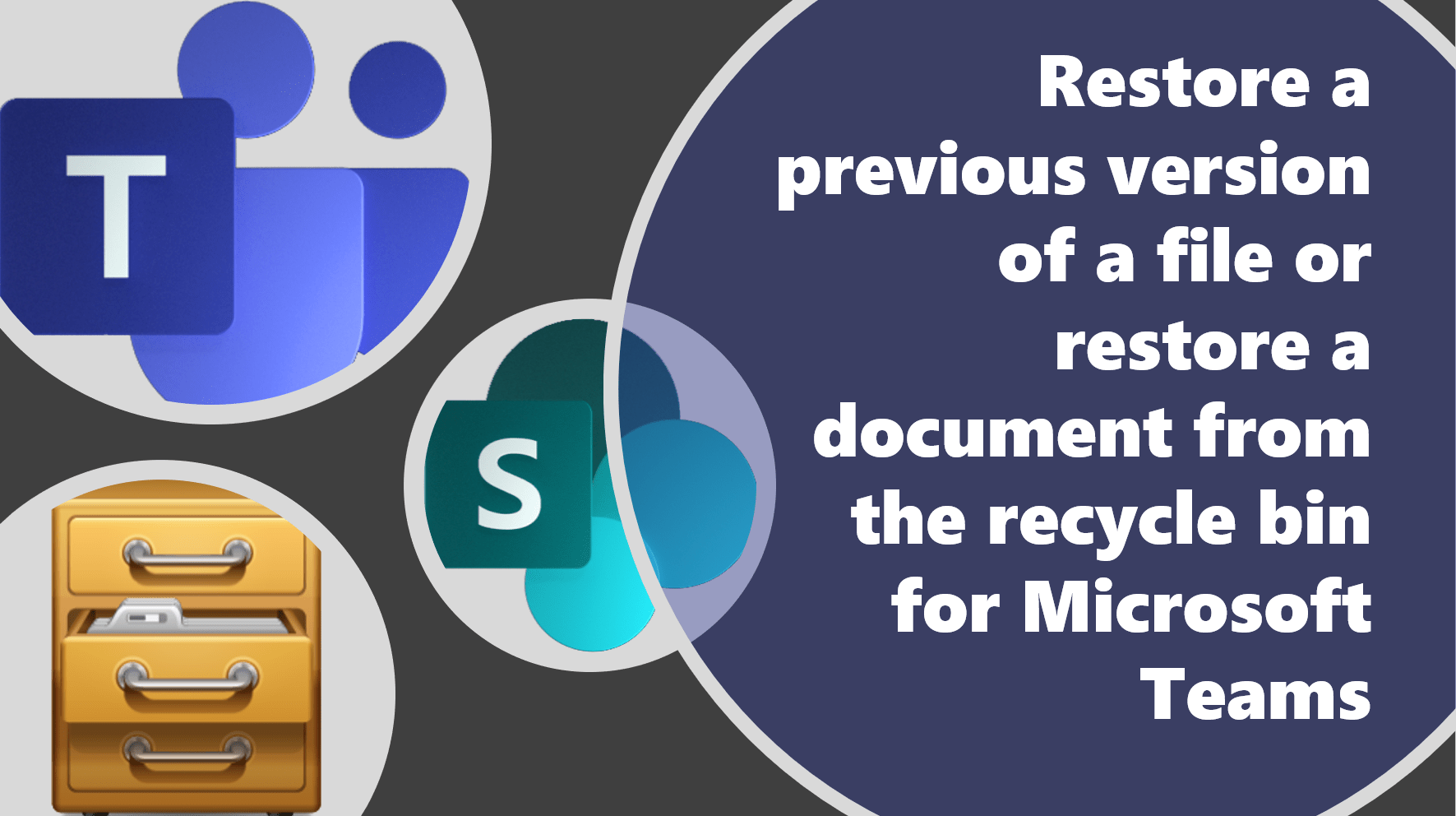 Restore previous versions of files or documents from Microsoft ...