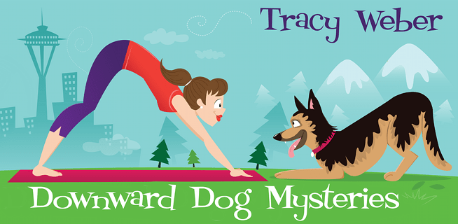Downward Dog Mysteries, Illustration by Nicole Alesi