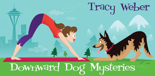 Downward Dog Mysteries, Illustration by Nicole Alesi