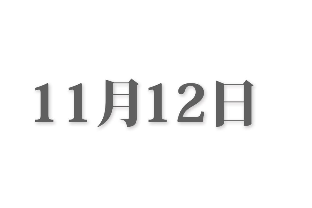 11月12日と言えば? 行事・出来事・記念日|今日の言葉・誕生花・石・星|総まとめ