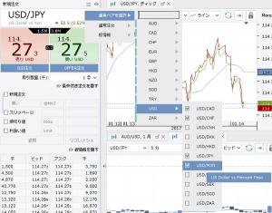 デューカスコピー・ジャパンの取引通貨ペア