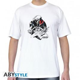 "CAPTAIN HARLOCK - Tshirt ""Albator Atlantis"" uomo SS bianco - basic"