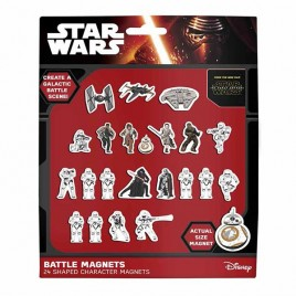 STAR WARS EPVII - Magnets Battle set x12