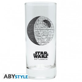 "STAR WARS - Glass ""Death Star"" x2"