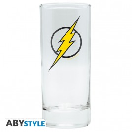 "DC COMICS - Glass ""Flash"" x2"
