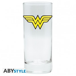 "DC COMICS - Glass ""Wonder Woman"" x2"