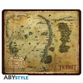 THE HOBBIT - Mousepad - Mappa Terra di Mezzo