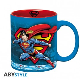 DC COMICS - Tazza - 320 ml - Superman Action - con scatola x2