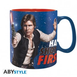 STAR WARS - Tazza - 460 ml - Han Shot First - scatola x2