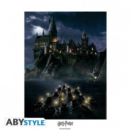 "HARRY POTTER - Collector Artprint ""Hogwarts"" (50x40)"