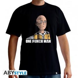 "ONE PUNCH MAN - Tshirt ""Saitama Fun"" uomo SS nero - basic"