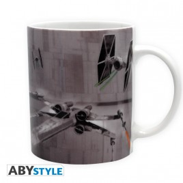 STAR WARS - Tazza - 320 ml - X-Wing VS Tie Fighter- con scatola x2