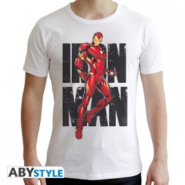"MARVEL - Tshirt ""IM Classic"" uomo SS bianco - nuova vestibilità"