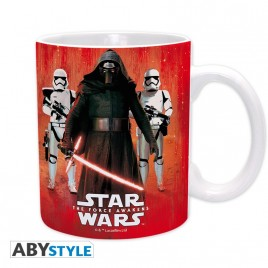 STAR WARS - Tazza - 320 ml - Kylo Ren & Troopers - subli - con boxx2