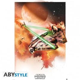 "STAR WARS - Poster ""Millennium Falcon"" (98x68)"