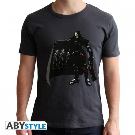 """OVERWATCH - Tshirt """"Reaper"""" uomo SS nero - nuova vestibilità"""