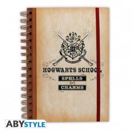 "HARRY POTTER - Quaderno ""Scuola di Hogwarts"""