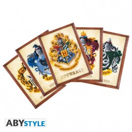 HARRY POTTER - Cartoline - Set 1 x5 (14,8x10,5)