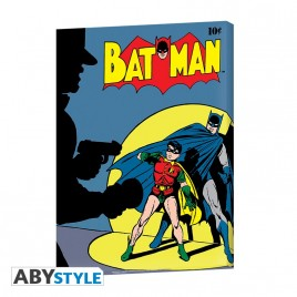 DC COMICS - Canvas - Copertina vintage Batman (30x40) x2