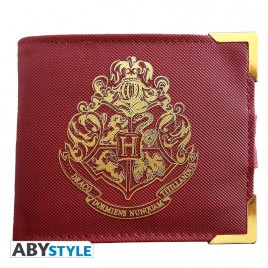 "HARRY POTTER - Portafoglio Premium ""Golden Hogwarts"""