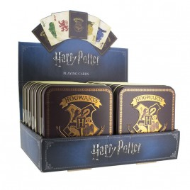 HARRY POTTER - Carte da gioco Hogwarts x12