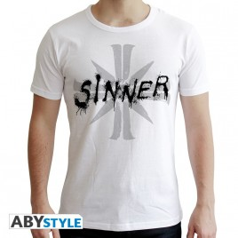 FAR CRY - Tshirt - Sinner - uomo SS bianco - nuova vestibilità