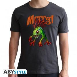 WORLD OF WARCRAFT - Tshirt Murloc - uomo SS grigio scuro - nuova vestibilità