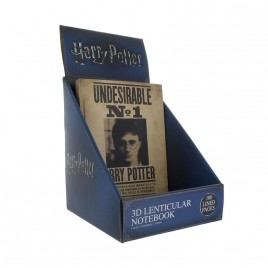 HARRY POTTER - Harry Potter 3D Notebook lenticolare