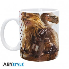 STAR WARS - Tazza - 320 ml - Chewbacca Ep7 - subli - con scatola x2