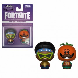 FORTNITE - POP!  Pint Sized!  Vinile: Funkops e Tomatohead