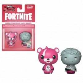 FORTNITE - POP!  Pint Sized!  Vinile: Cuddle Team Leader e Love Ranger