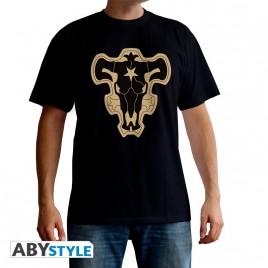 "BLACK CLOVER - Tshirt ""Black Bull Emblem"" uomo SS nero - basic"