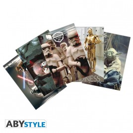 "STAR WARS - Postcards - Set 1 x5 ""Movie Scenes"" (14,8x10,5)"