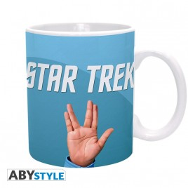 STAR TREK - Tazza - 320 ml - Spock - subli - con scatola x2