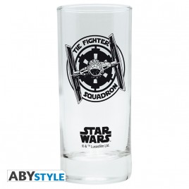 "STAR WARS - Glass ""Tie-Fighter"" x2"