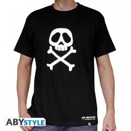 """""""CAPITAINO HARLOCK - Tshirt"""" """"Emblema"""" """"uomo SS nero - base *"""""""
