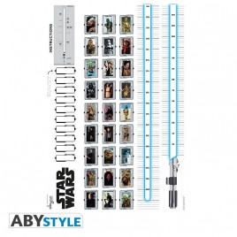 STAR WARS - Stickers - 100x70cm - HEIGHT MEASURE (blister)