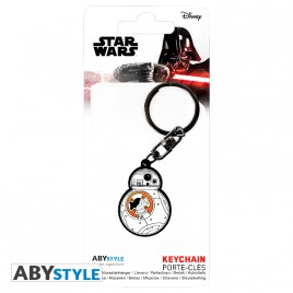 "STAR WARS - Portachiavi in ​​PVC ""BB-8"" X4"