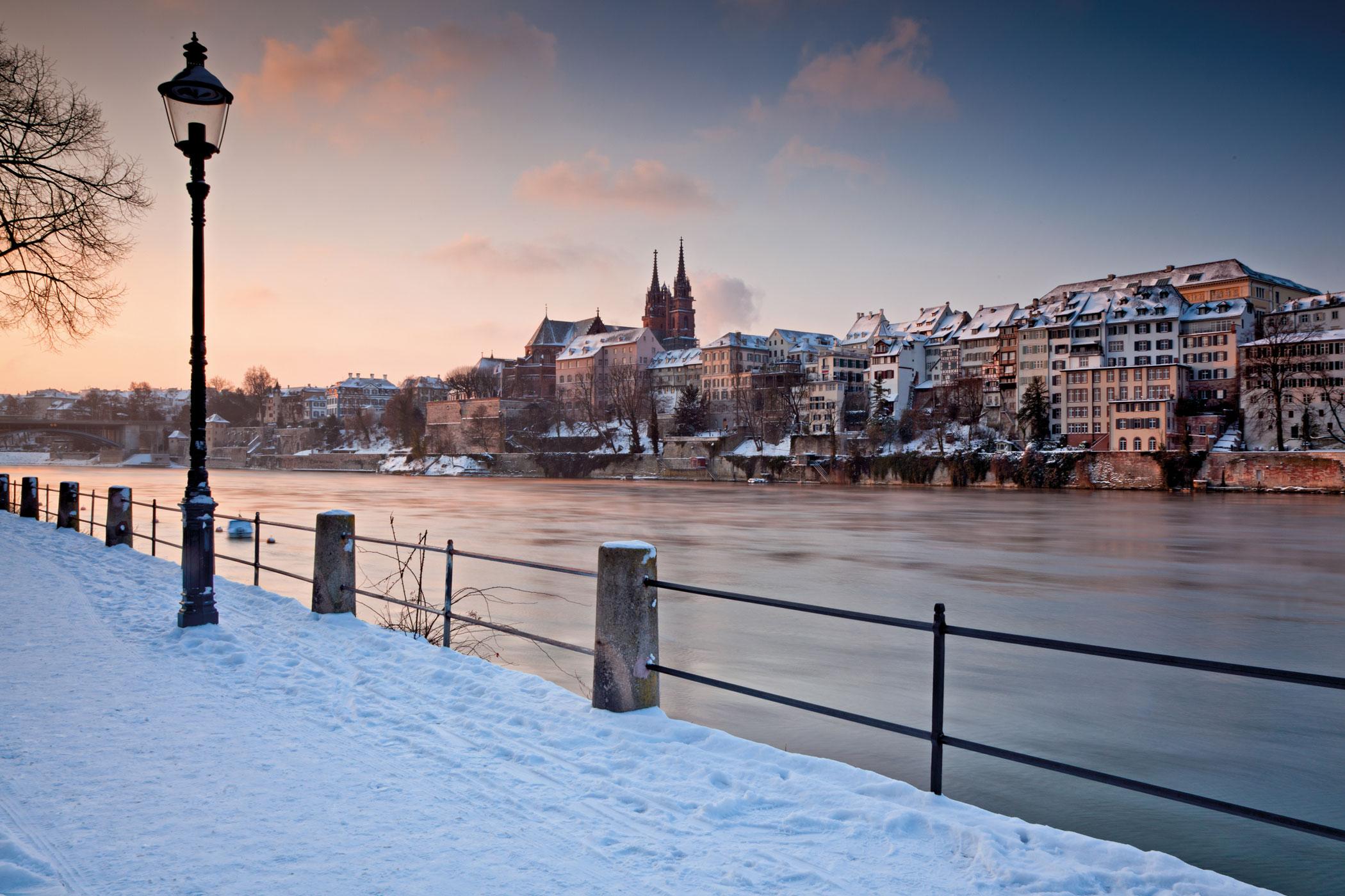 Basel, Winter