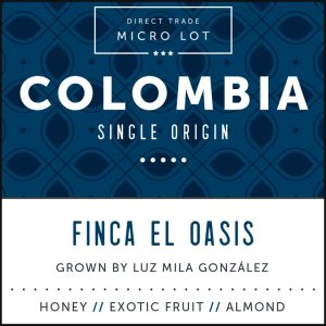 Colombia El Oasis Single Estate Arabica Coffee Subscription