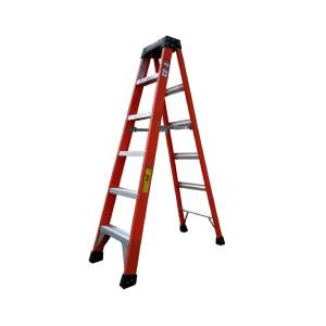 Tradecraft 6' Fiberglass  Step Ladder Grade IA 300lbs