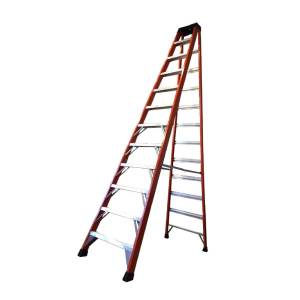 Tradecraft 12′ Fiberglass Step Ladder Grade IA 300lbs