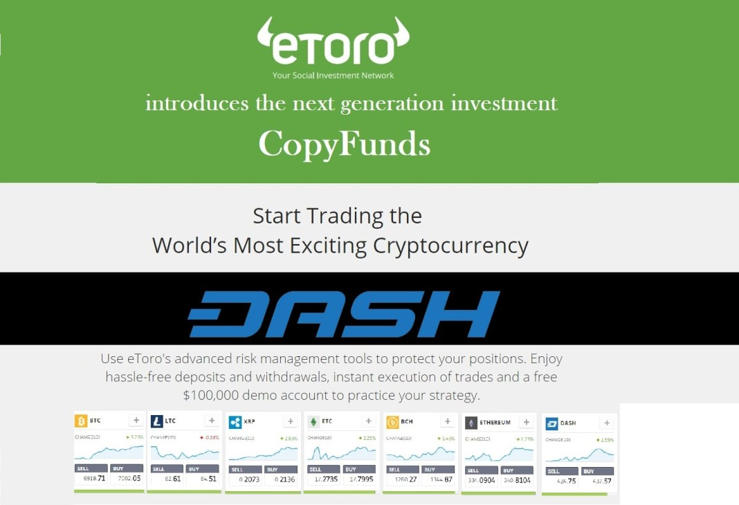 etoro dash copy funds