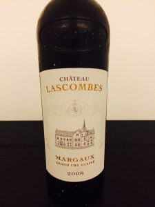 2008 Chateau Lascombes, Margaux