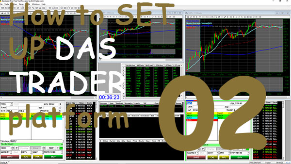02 Setting Up a DAS TRADER Platform