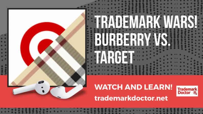 Trademark Wars! Burberry v. Target!